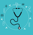 services medical healthcare isolated vector image