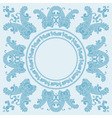 paisley boarder pattern vector image