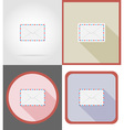 delivery flat icons 10 vector image