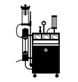 Life support machine vector image vector image