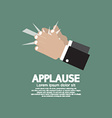 Applause vector image