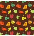 Thanksgiving seamless pattern vector image