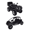 buggies and quads vector image vector image