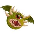 Flying hellish monster vector image
