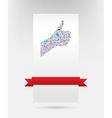 like symbol and social network card design eps10 vector image