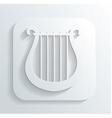 Lira icon vector image