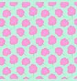 cotton candy floss seamless pattern vector image