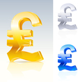 abstract pound sign vector image vector image