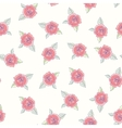 Hand drawn roses seamless pattern vector image