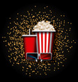 cinema and movie design vector image
