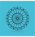 darts player design vector image