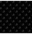 Dark floral nature seamless pattern design vector image
