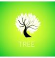 Paper tree vector image vector image