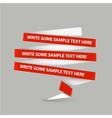 paper stripes vector image