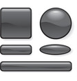 buttons different form vector image