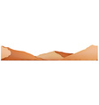 Seamless background with brown mountain vector image