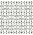 Geometric line seamless cube pattern with vector image