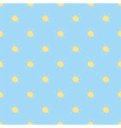 Seamless summer pattern or sunny background vector image
