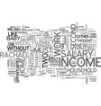 when a two salary income fails text word cloud vector image