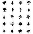 Forest Solid Icons 5 vector image