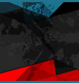 dark grunge background vector image