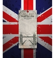 Tower Bridge England London vector image