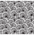 seamless abstract floral monochrome pattern 4 clip vector image vector image