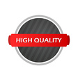 Stamp with label High Quality vector image