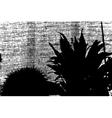 Grunge Plants vector image vector image