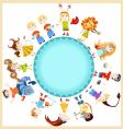 children horoscope vector image