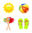Beach Childrens Set vector image