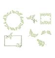 Moringa Leaf vector image
