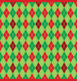 argyle christmas paper background pattern vector image