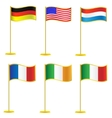 Collection of flags vector image