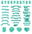 Ribbons and other design elements vector image