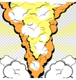 2d explosion vector image