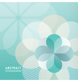 Petal shape Abstract Background vector image vector image