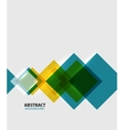 Colorful geometrical modern art minimal template vector image vector image