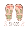 Girly shoes vector image