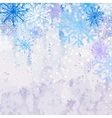 Winter snowstorm background vector image vector image