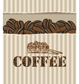 box of coffee vector image vector image