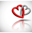 Abstract Concept With Hearts vector image