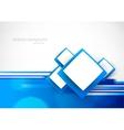 Blue soft background vector image