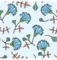 cornflower seamless vector image