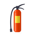 fire extinguisher isolated vector image