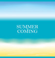 summer background hello summer vector image