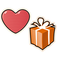 objects for love vector image vector image
