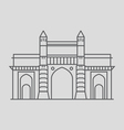 Gateway Of India vector image