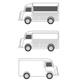 Food Truck Template vector image vector image