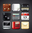 business apps set vector image